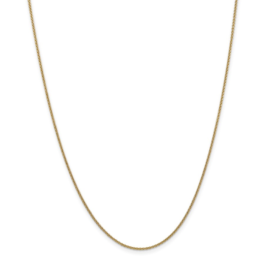 14k Gold 1.5 mm Cable Chain Necklace - 30 in.