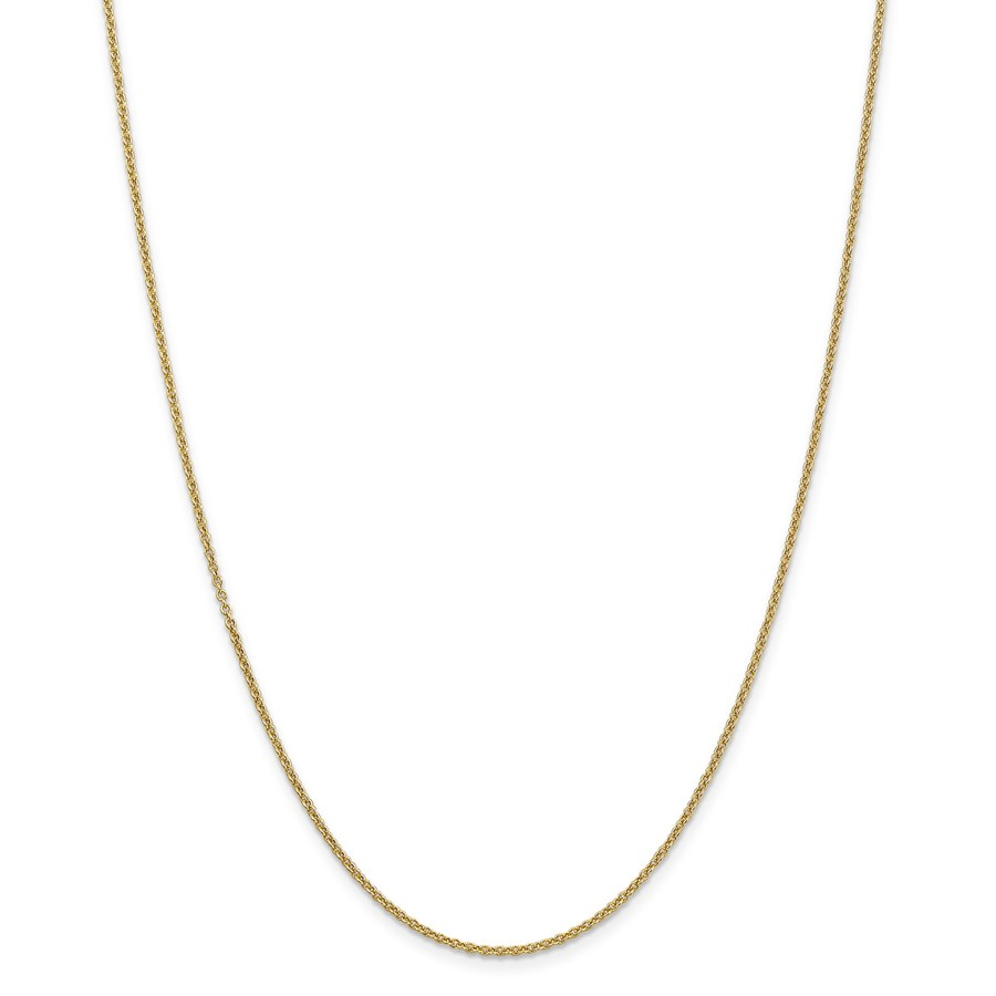 14k Gold 1.6 mm Cable Chain Necklace - 24 in.