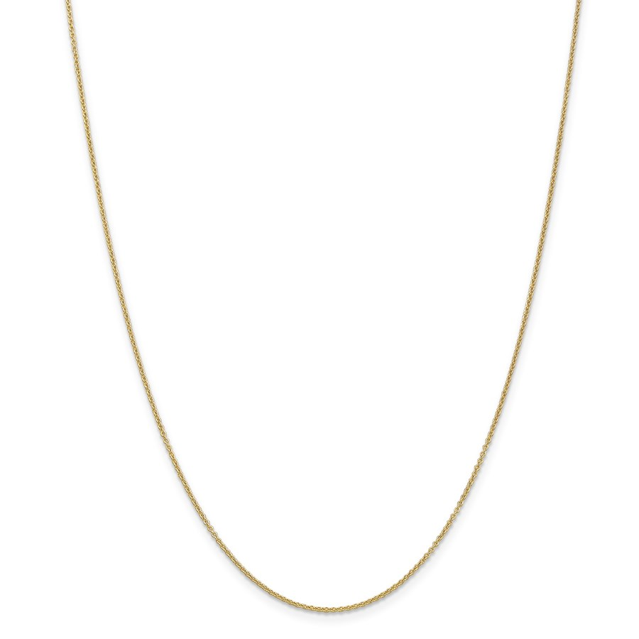 14k Gold .7 mm Cable Chain Necklace - 16 in.