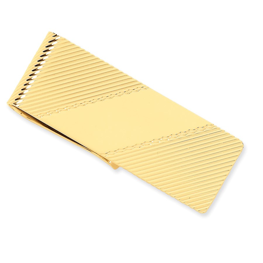 14k Solid Gold Money Clip (54 mm)