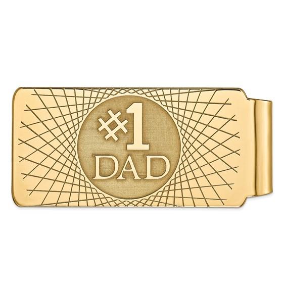 14k Solid Gold Money Clip (56 mm)