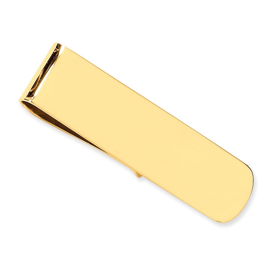 14k Solid Gold Money Clip (Solid Narrow)