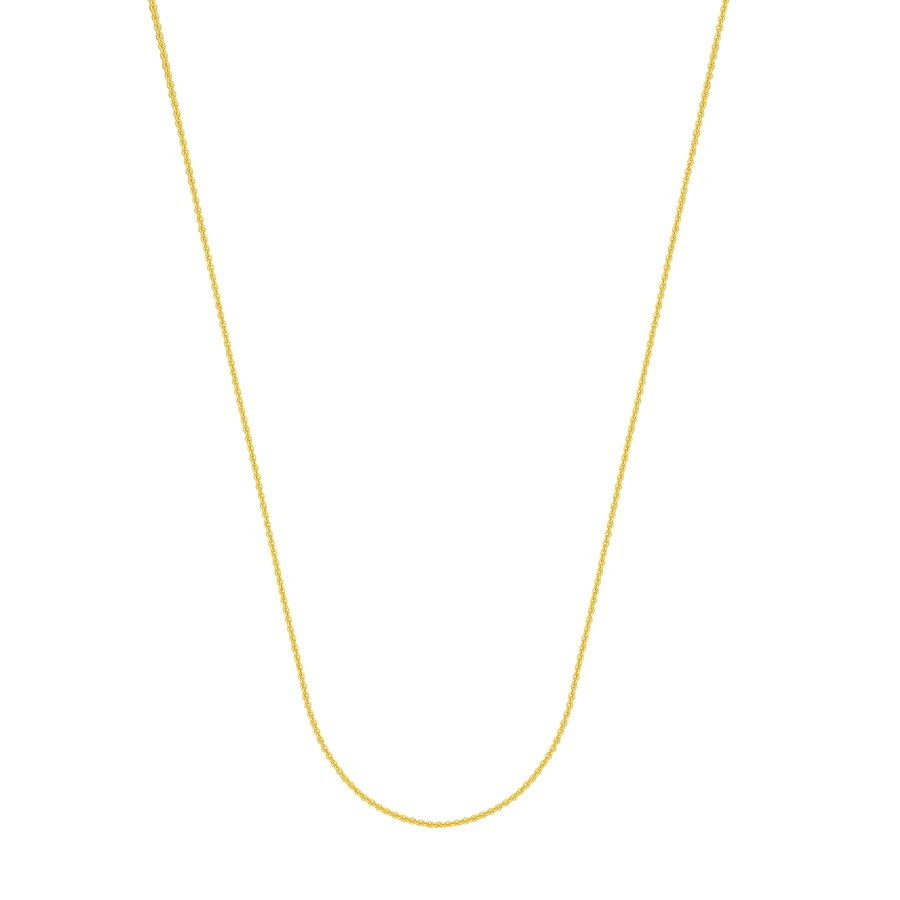 14K Yellow Gold 1.05mm Cable Chain with Lobster Clasp - 20 in.