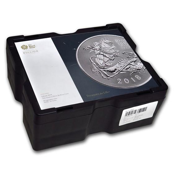 15-Coin 10 oz Silver Valiant Monster Box (Empty, Black)