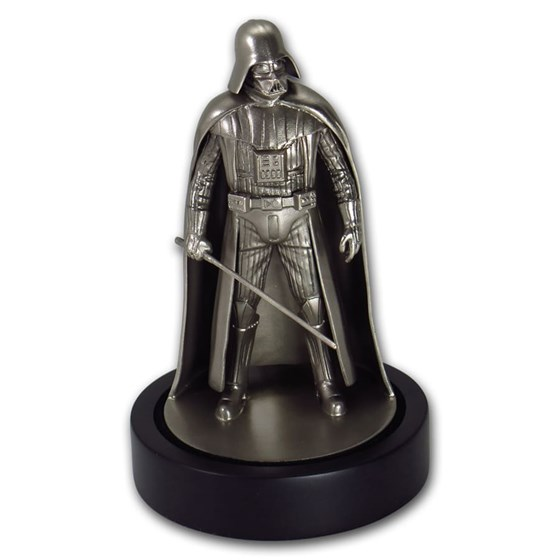 150 gram Silver Darth Vader Miniature Statue
