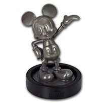 150 gram Silver Mickey Mouse 90th Anniversary Miniature Statue