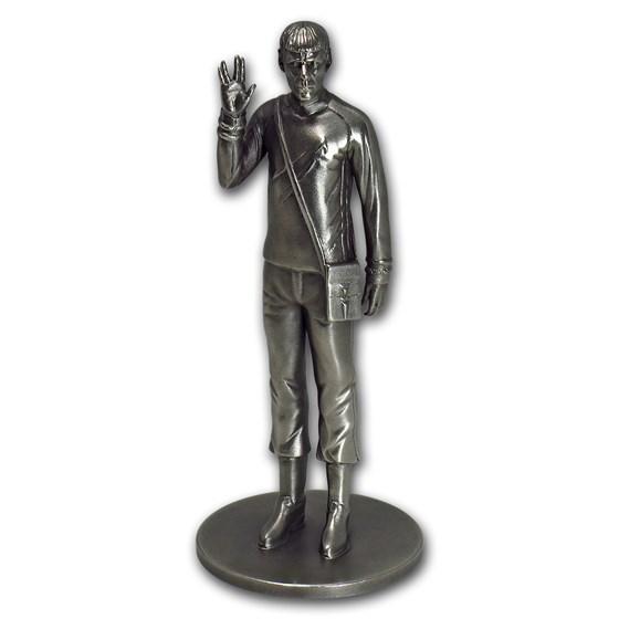 150 gram Silver Star Trek Commander Spock Statue