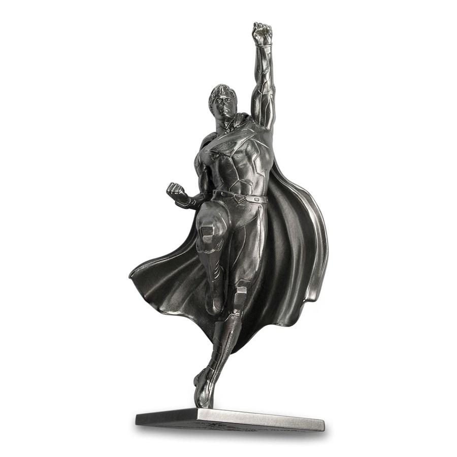 150 gram Silver Superman 80th Anniversary Miniature Statue