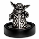 "150 gram Silver The Child Grogu ""Baby Yoda"" Miniature Statue"
