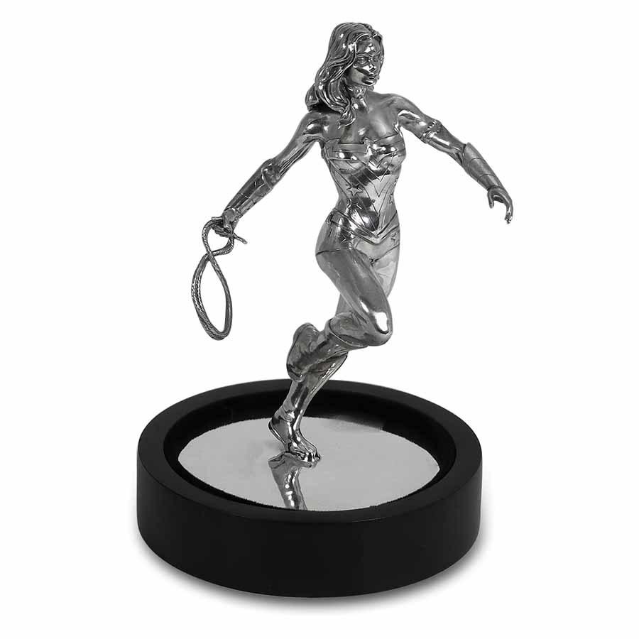 150 gram Silver Wonder Woman Miniature Statue