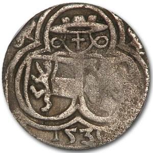 1530 Austria 2 Pfennig (Salzburg)