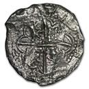 1598-1621 Bolivia Silver 8 Reales Grade Two (Atocha Shipwreck)