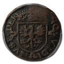 (1602-1663) Netherlands Duit Deventer VF-30 PCGS