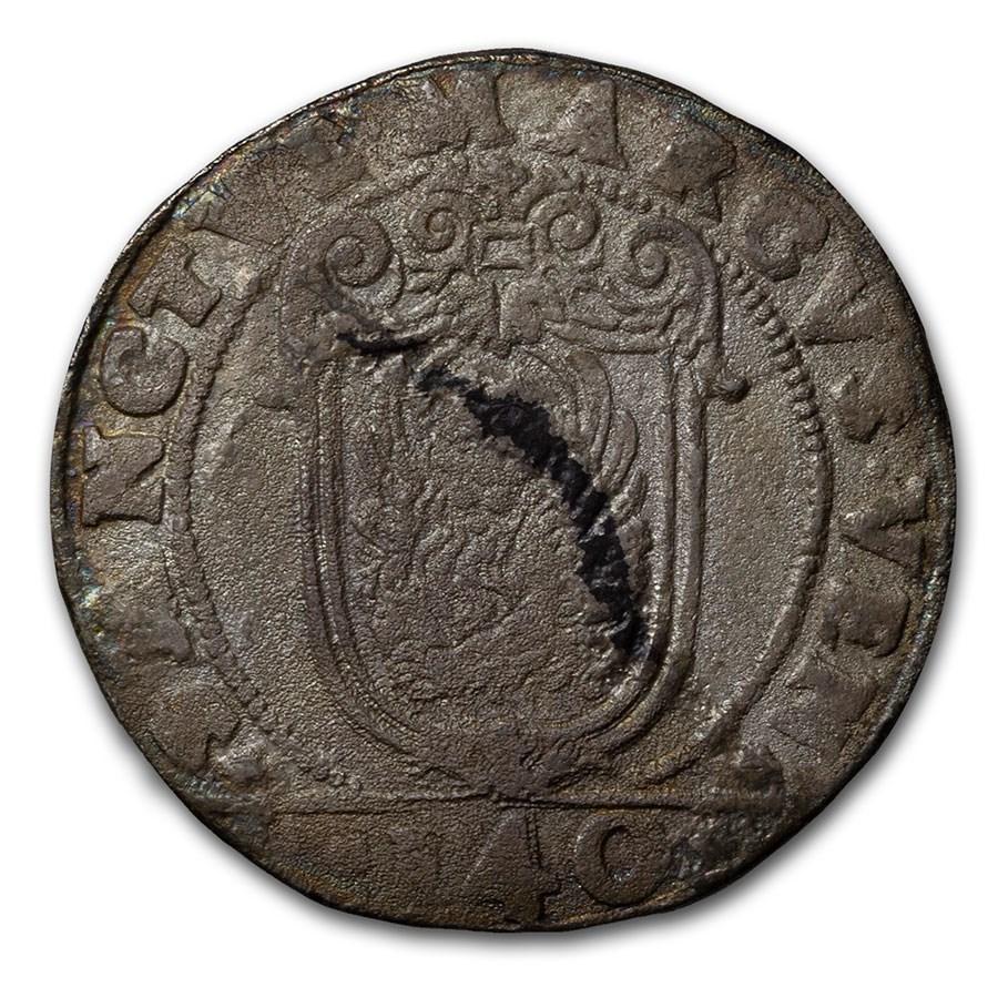 (1618-1623) Italian States Venice Silver Scudo Antonio Priuli VF