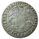 1623 Poland Danzig Silver Ort Sigismund III XF