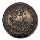 1628 Austria Silver 2 Thaler Leopold V AU-55 NGC