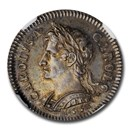 1665 Great Britain Silver Pattern Farthing Charles II PR-64 NGC