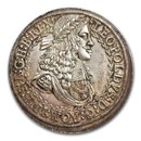 1670 Austria Silver 2 Thaler Leopold I MS-65 NGC