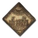 1704 German States Augsburg AR Klippe Medal MS-63 PCGS