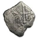 1715 Fleet Silver 8 Reales Cob (W/COA)
