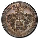 1730 German States Hamburg Silver Thaler MS-64 PCGS