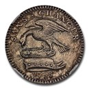 1733 Isle of Man Silver 1/2 Penny PR-63 NGC