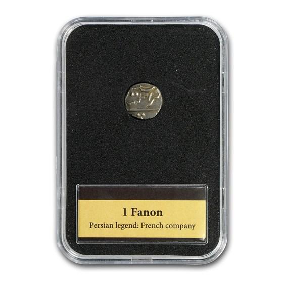 1738-1792 French India Silver 1 Fanon Presentation Set