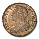 1739 Great Britain Silver Six Pence MS-63 PCGS