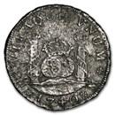 1740 MF Mo Mexico Silver 4 Reales Philip V XF (Shipwreck Effect)