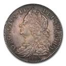 1745 Great Britain Silver Halfcrown George II AU-53 PCGS