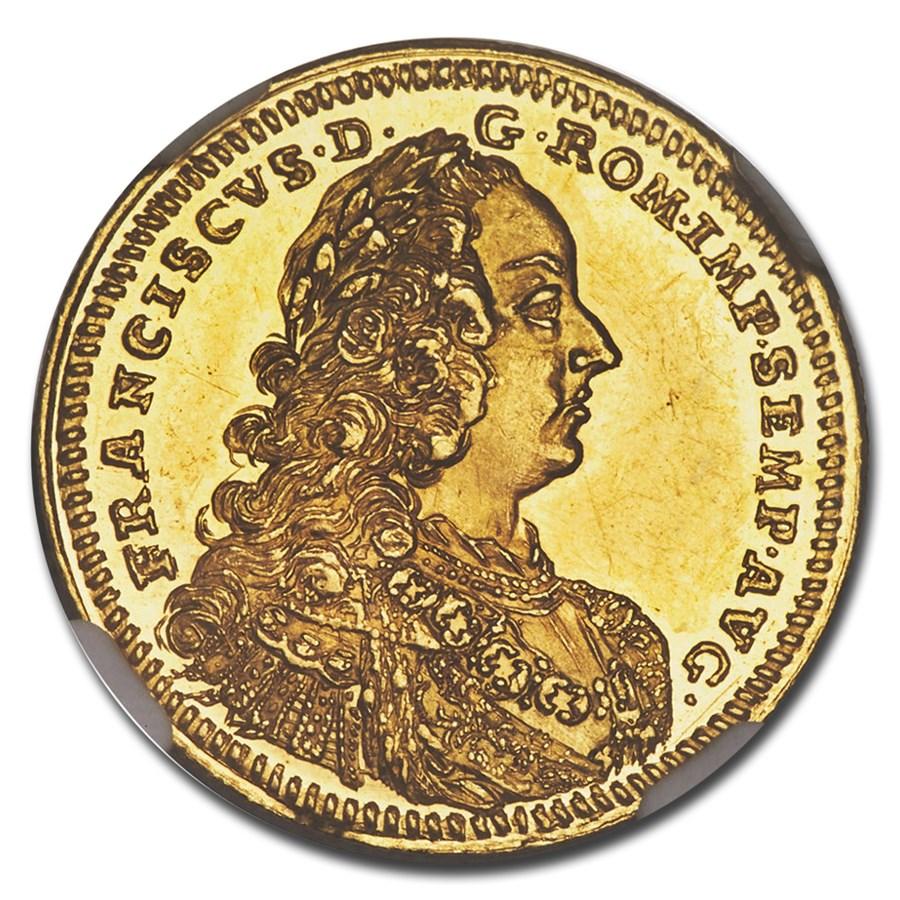 1746 German States Hall Gold Ducat MS-62 PL NGC