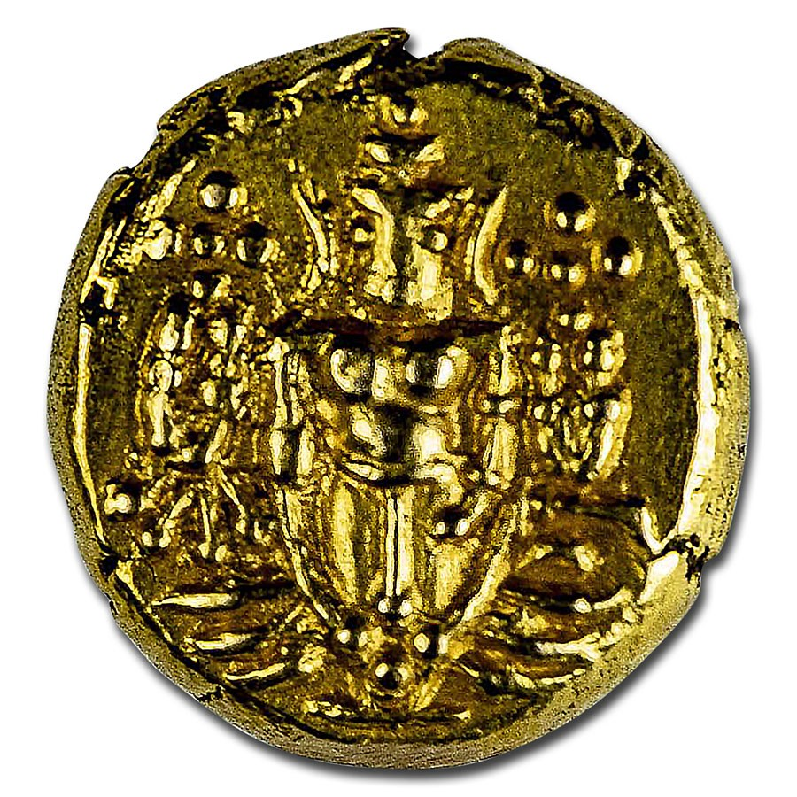 (1747-84) India-Dutch Gold Pagoda BU