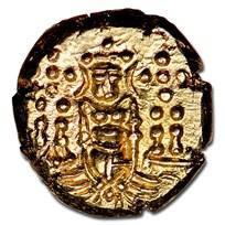 (1747-84) India-Dutch Gold Pagoda MS-64 NGC