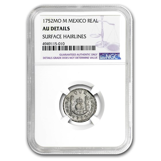 1752 Mo-M Mexico 1 Real AU Details NGC