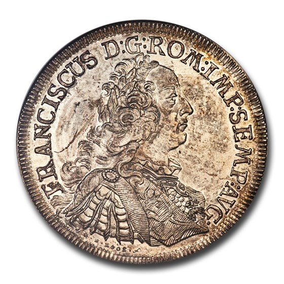 1759 ICB German States Regensburg Silver Thaler MS-61 NGC