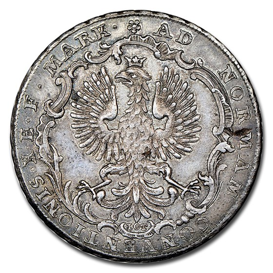 1764 German States Frankfurt am Main Silver Thaler MS-64 NGC