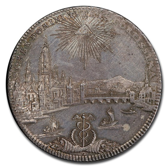 1772 German States Frankfurt am Main Silver Thaler MS-62 PCGS
