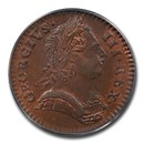 1773 Great Britain Copper Farthing George III MS-65 PCGS (Brown)