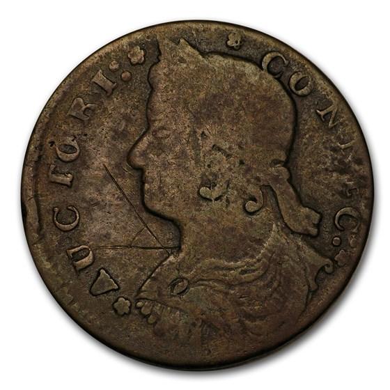 1787-1788 Connecticut Copper VG-Fine Details