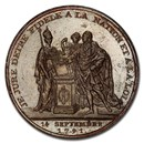 1791 France Constitution Bronze Medal SP-63 BN PCGS (Brown)