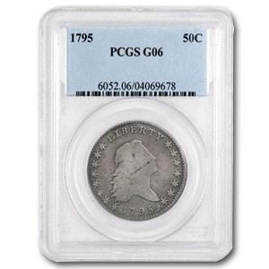 1795 Flowing Hair Bust Half Dollar Good-6 PCGS