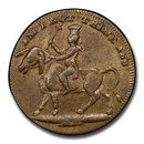 1795 Middlesex Copper Farthing Token MS-64 PCGS (Brown)