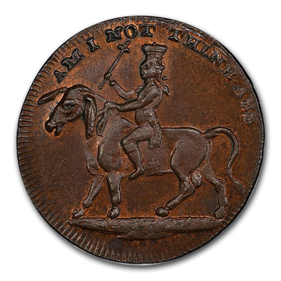 1795 Middlesex Spence's 1/2 Penny Conder Token MS-65+ PCGS (BN)