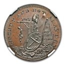 1796 Middlesex 1/2 Penny Conder Token MS-65 NGC (BN)