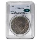 1799 Draped Bust Dollar AU-50 PCGS CAC