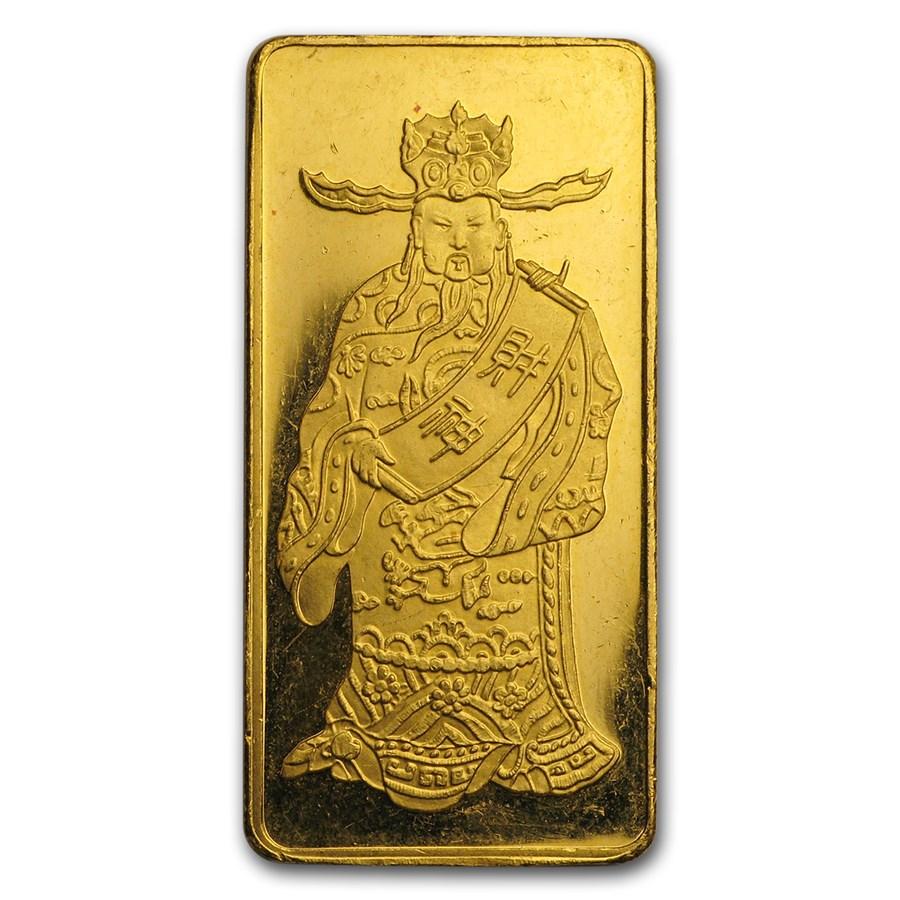 18.7145 Gram .9999 Gold Bar (.602 oz.) - Hang Seng Bank