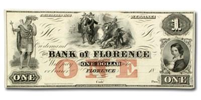 18__ Bank of Florence, Nebraska $1.00 NE-40 CCU
