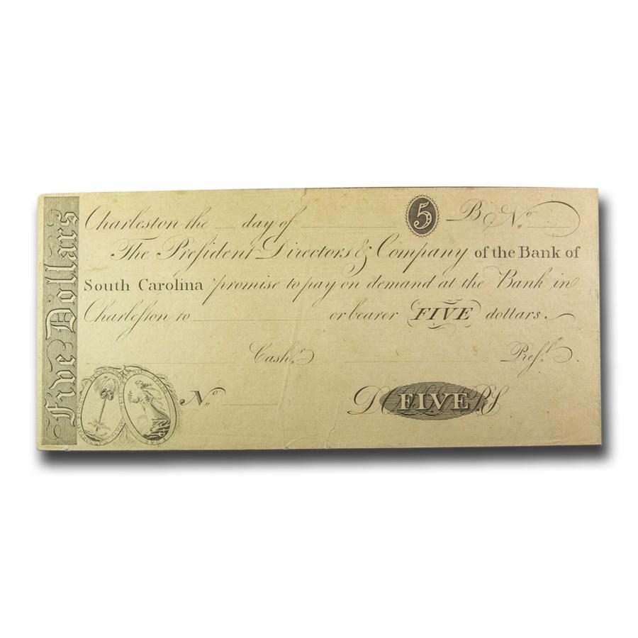 18__ Bank of South Carolina $5.00 AU