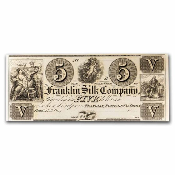 18__ Franklin Silk Co. Franklin, OH $5.00 AU