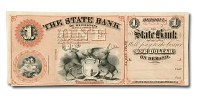 18__ The State Bank of Michigan $1 MI-160 AU